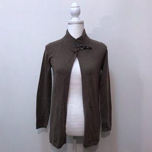 Fenn Wright Manson 100% Cashmere Brown Sweater S